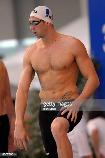 Alain BERNARD 100m NL Championnats de France de Natation en Petit Bassin 2010 Chartres