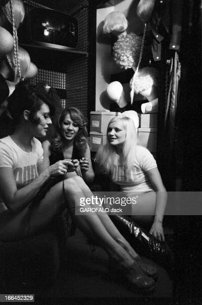 alain bernardin in his cabaret the crazy horse saloon pictures getty images. Black Bedroom Furniture Sets. Home Design Ideas