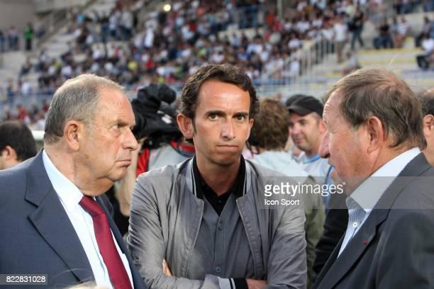 Alain BOMPARD / Alexandre BOMPARD / Guy ROUX Arles Avignon / Lens 2eme journee de Ligue 1 Parc des Sports Avignon