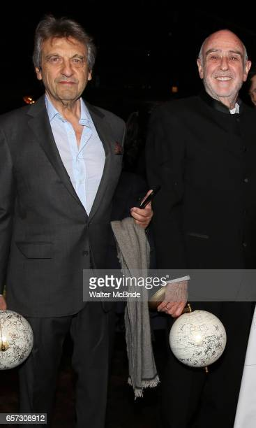 Alain Boubil and ClaudeMichel Schonberg during The Opening Night Actors' Equity Gypsy Robe Ceremony honoring Catherine Ricafort for the New Broadway...