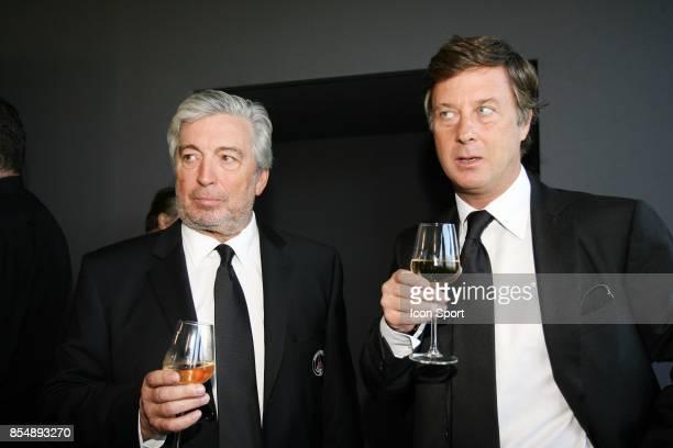 Alain CAYZAC et Sebastien BAZIN Inauguration du Nouveau Centre d'entrainement du PSG Saint Germain en Laye Camp des Loges