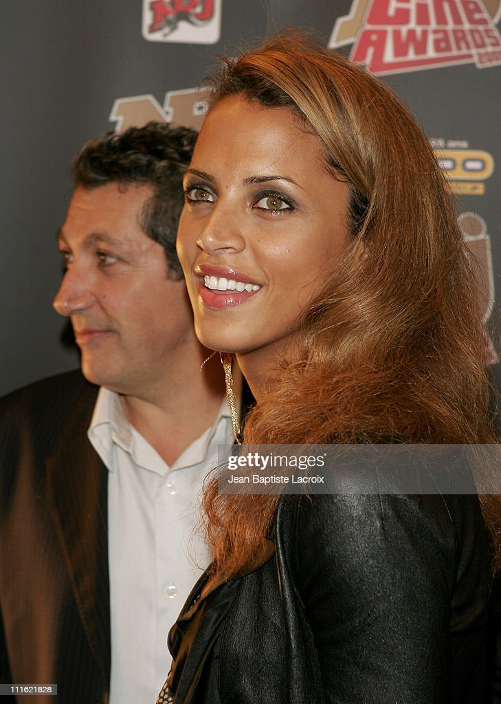 <a gi-track='captionPersonalityLinkClicked' href=/galleries/search?phrase=Alain+Chabat&family=editorial&specificpeople=615563 ng-click='$event.stopPropagation()'>Alain Chabat</a> and <a gi-track='captionPersonalityLinkClicked' href=/galleries/search?phrase=Noemie+Lenoir&family=editorial&specificpeople=240424 ng-click='$event.stopPropagation()'>Noemie Lenoir</a> during NRJ Cine Award 2005 at Grand Rex in Paris, France.