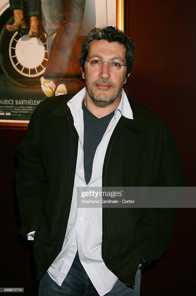 Alain Chabat at the premiere of 'Papa' in Paris.