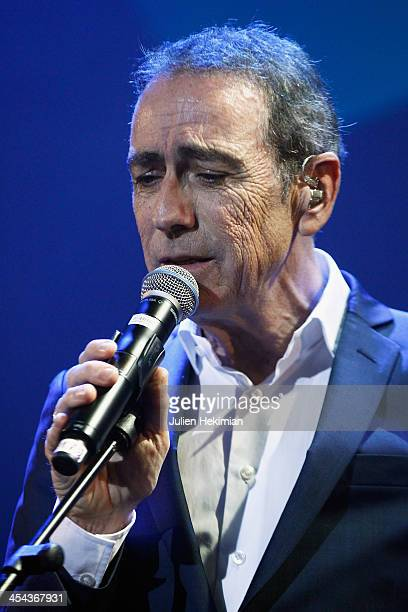 Alain Chamford performs on stage during the 50th anniversary celebration of french radio France Inter at La Gaite Lyrique on December 8 2013 in Paris...