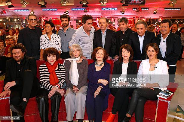 Alain Chamfort Emma de Caunes Yannick Renier Eric Carriere Main guests of the show Philippe Chevallier and Regis Laspales Michel Drucker Francis...