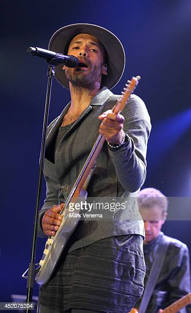 Alain Clark performs at Day 2 of North Sea Jazz Festival at Ahoy on July 12 2014 in Rotterdam Netherlands
