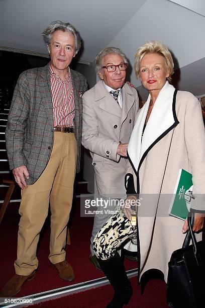 Alain de Gourcuff JeanDaniel Lorieux and Princess Anne de Bourbon Sicile attend has the signature of the book 'Espace Cardin' by JeanPascal Hesse at...