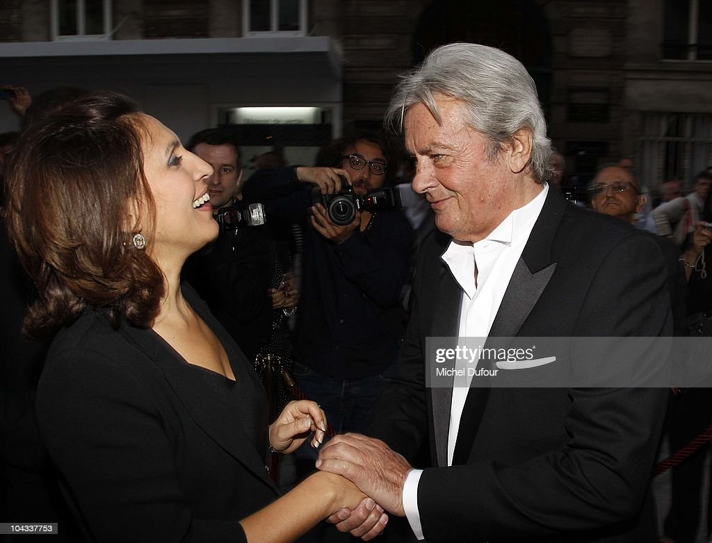 <a gi-track='captionPersonalityLinkClicked' href=/galleries/search?phrase=Alain+Delon&family=editorial&specificpeople=228460 ng-click='$event.stopPropagation()'>Alain Delon</a> and <a gi-track='captionPersonalityLinkClicked' href=/galleries/search?phrase=Nora+Berra&family=editorial&specificpeople=5939030 ng-click='$event.stopPropagation()'>Nora Berra</a> attend the IFRAD 6th Gala at Opera Comique on September 21, 2010 in Paris, France.