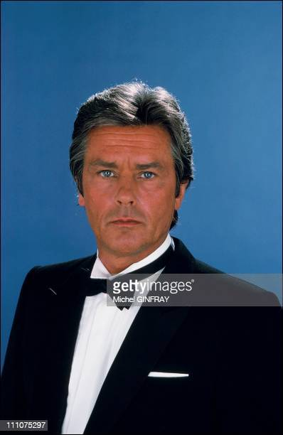Alain Delon in France in 1980