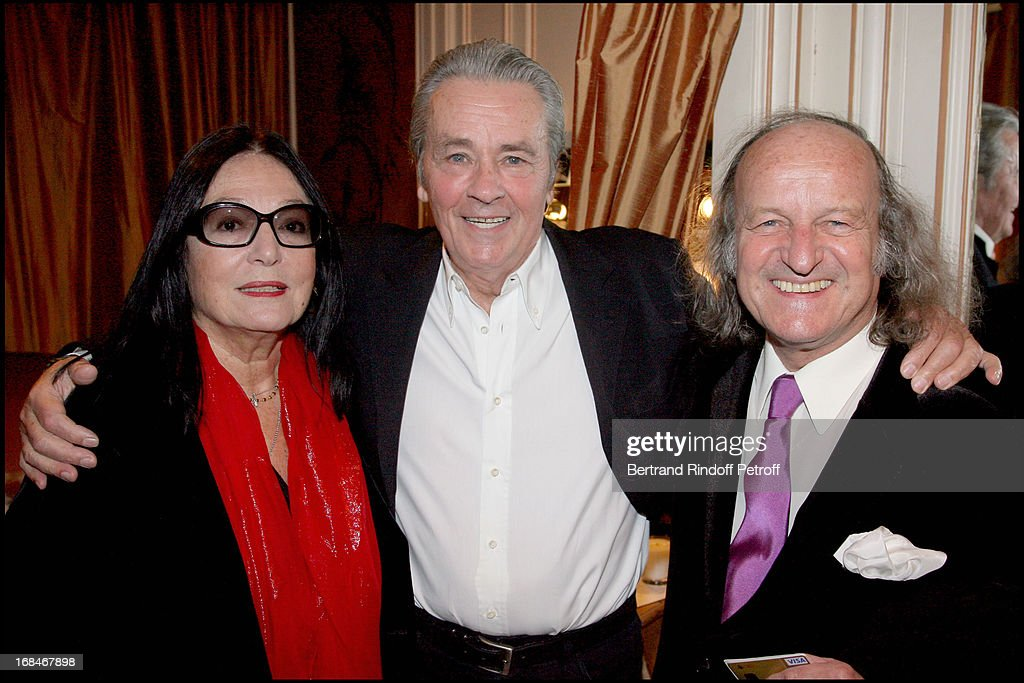 alain delon nana mouskouri and her husband andre chapelle at alain delon in ar gurneys
