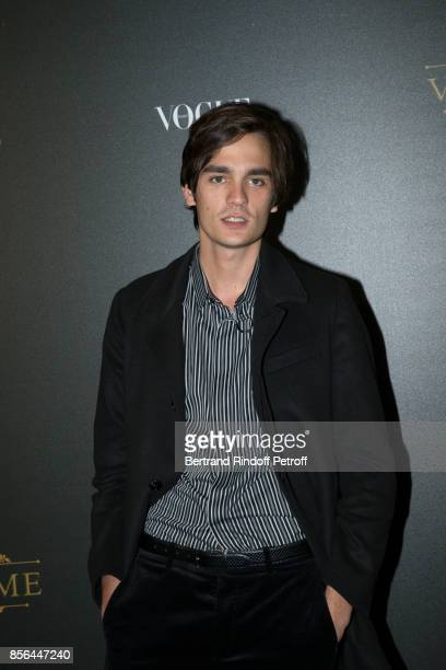 Alain Fabien Delon attends Vogue Party as part of the Paris Fashion Week Womenswear Spring/Summer 2018 at on October 1 2017 in Paris France