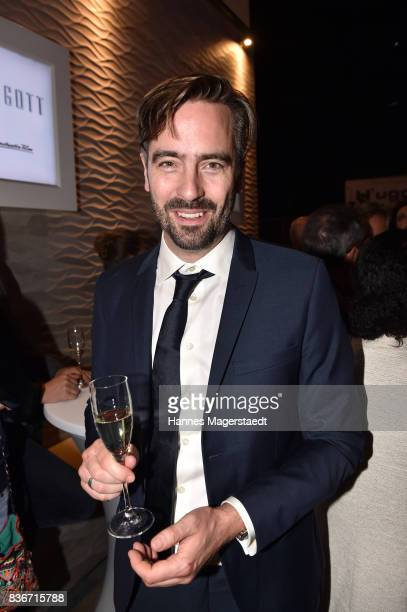 Alain Gsponer during the 'Jugend ohne Gott' premiere party at H'Ugo's on August 21 2017 in Munich Germany