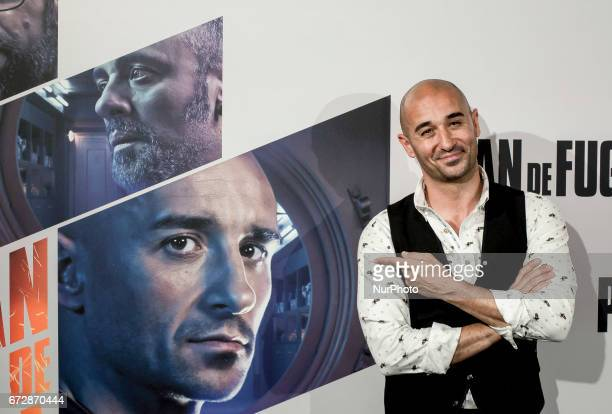 Alain Hernandez attends a photocall for 'Plan de Fuga' at NH Collection Madrid Suecia Hotel on April 25 2017 in Madrid Spain