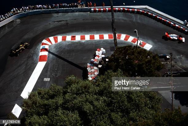 Alain Prost Ayrton Senna Grand Prix of Monaco Monaco 11 May 1986