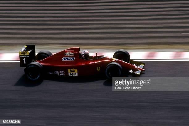 Alain Prost Ferrari 641 Grand Prix of Japan Suzuka Circuit October 21 1990