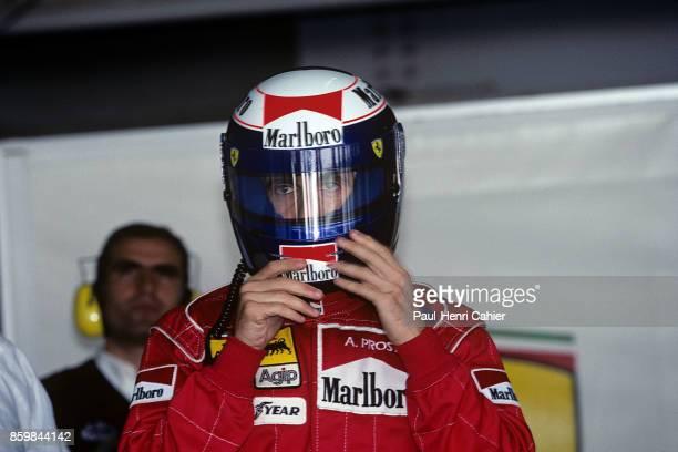 Alain Prost Grand Prix of Japan Suzuka Circuit October 20 1991