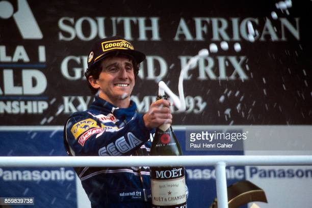 Alain Prost Grand Prix of South Africa Kyalami Grand Prix Circuit March 14 1993