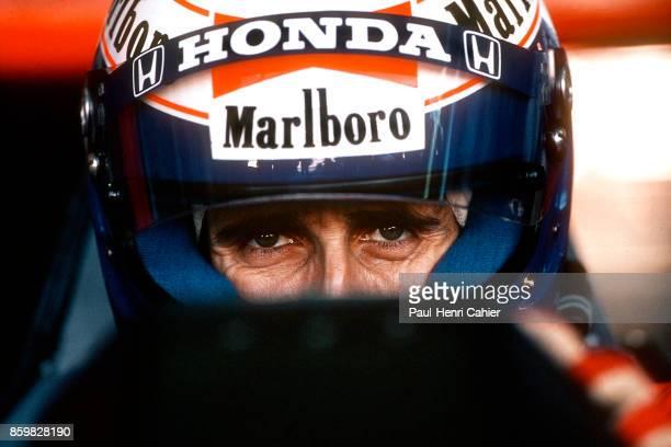 Alain Prost McLarenHonda MP4/5 Grand Prix of Japan Suzuka Circuit October 22 1989