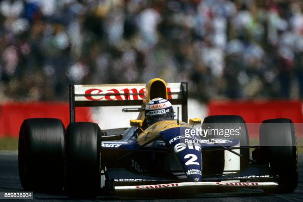Alain Prost WilliamsRenault FW15C Grand Prix of France Circuit de Nevers MagnyCours July 4 1993