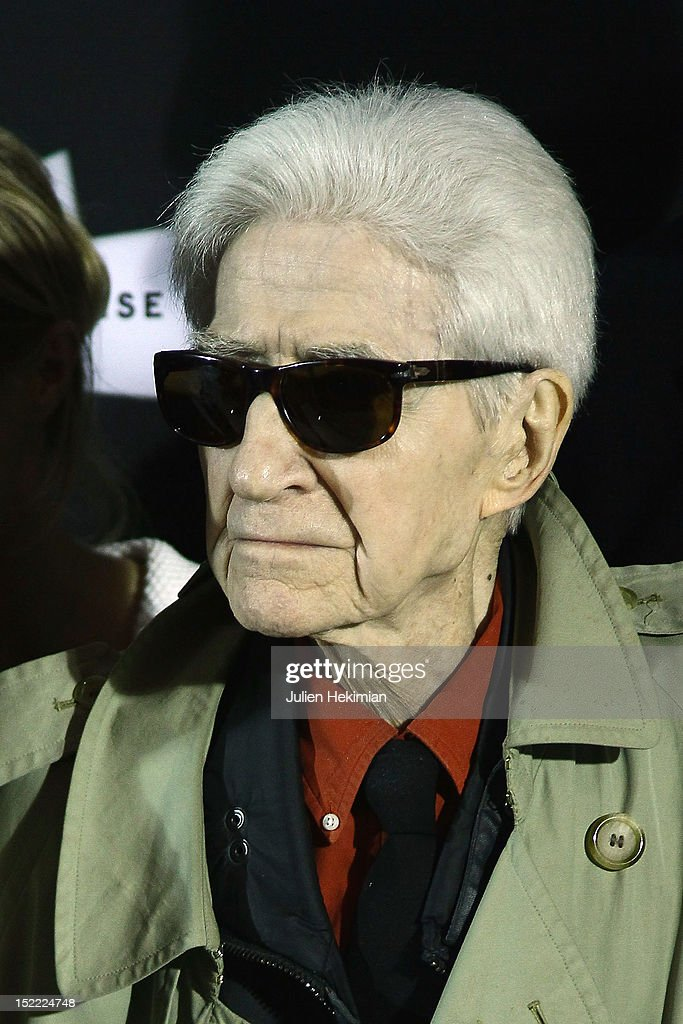 <a gi-track='captionPersonalityLinkClicked' href=/galleries/search?phrase=Alain+Resnais&family=editorial&specificpeople=1090412 ng-click='$event.stopPropagation()'>Alain Resnais</a> attends 'Vous N'Avez Encore Rien Vu' Photocall at la cinematheque on September 17, 2012 in Paris, France.
