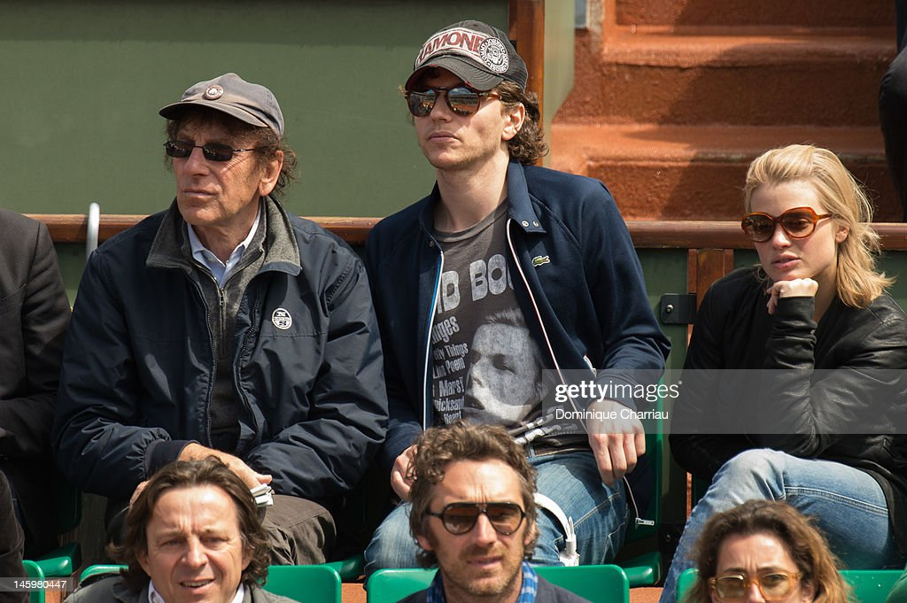 Celebrity Sightings At The French Open - June 8, 2012