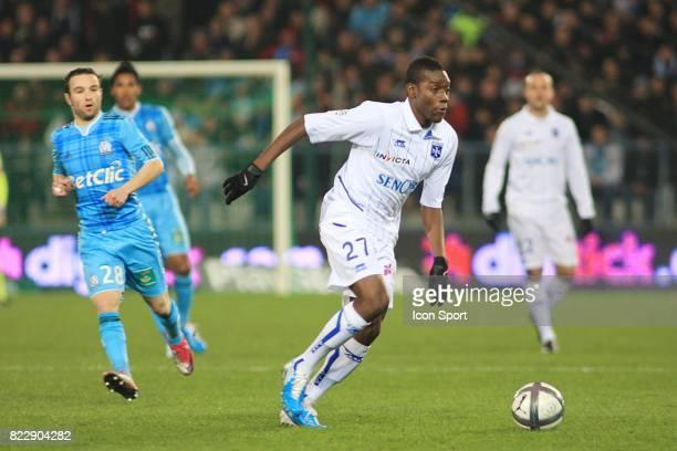 Alain TRAORE Auxerre / Marseille 17eme journee de Ligue1