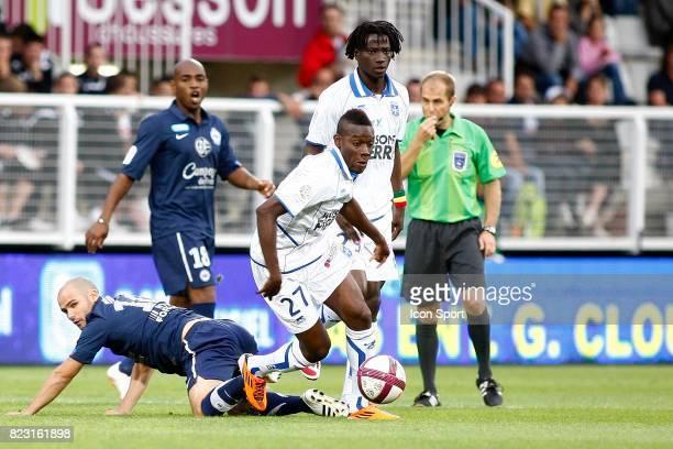 Alain Traore Auxerre / Caen 6e journee Ligue 1