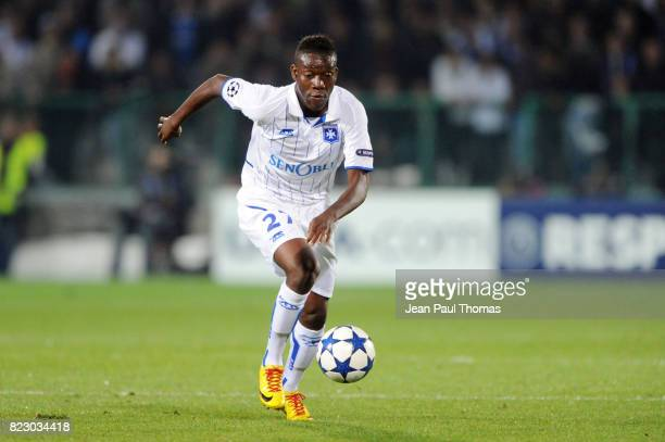 Alain TRAORE Auxerre / Real Madrid Champions League