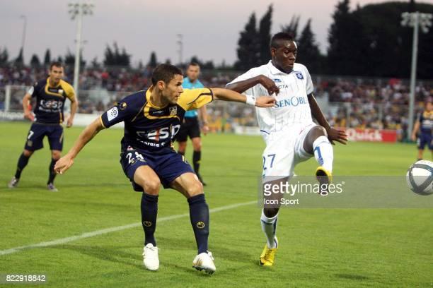 Alain TRAORE / Camel MERIEM Arles Avignon / Auxerre 8e journee Ligue 1