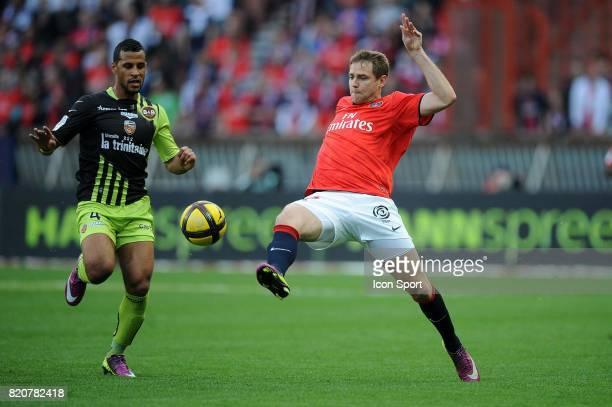 Alaixys ROMAO / Mathieu BODMER Paris Saint germain / Lorient 29e journee Ligue 1