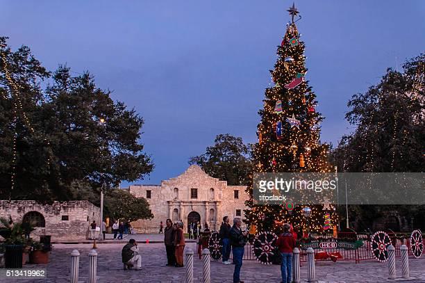 Alamo at Christmas