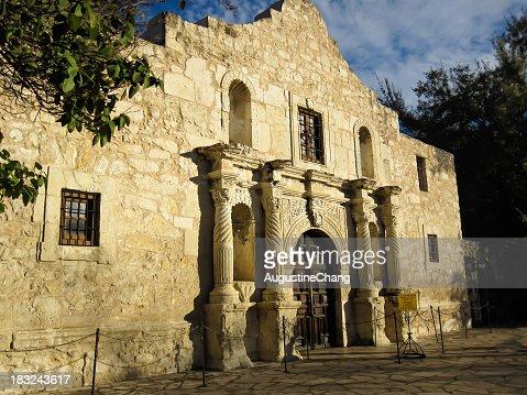 Alamo Mission historic building