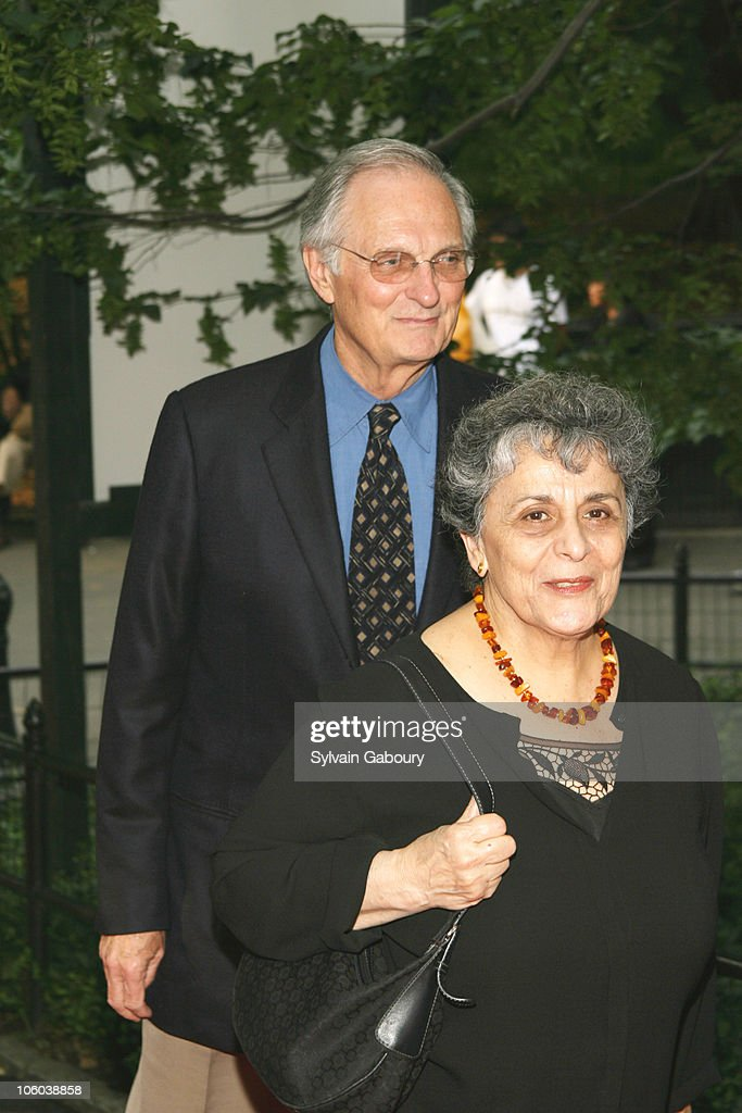 Alan Alda and Arlene Alda during Public Theater Gala and Opening of Shakespeare in the Park at Delacourt Theater Central Park in New York New York...