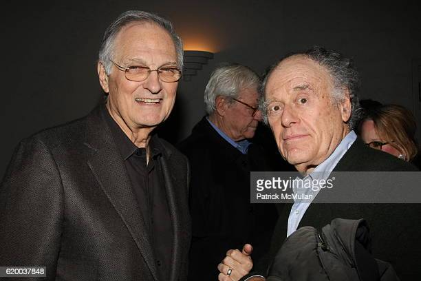 Alan Alda and Bob Dishy attend Screening of THE READER hosted by Len Emily Blavatnik at Disney Screening Room on December 1 2008 in New York City