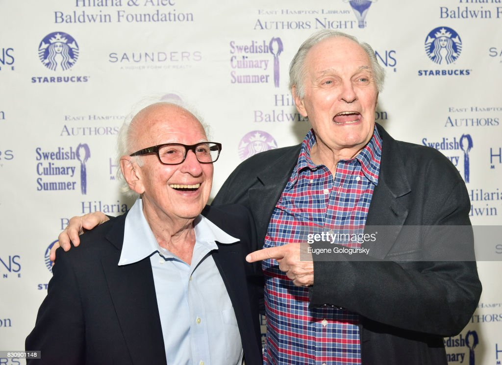 Alan Alda attend Eric Kandel Authors Night 2017 At The East Hampton Library at The East Hampton Library on August 12, 2017 in East Hampton, New York.