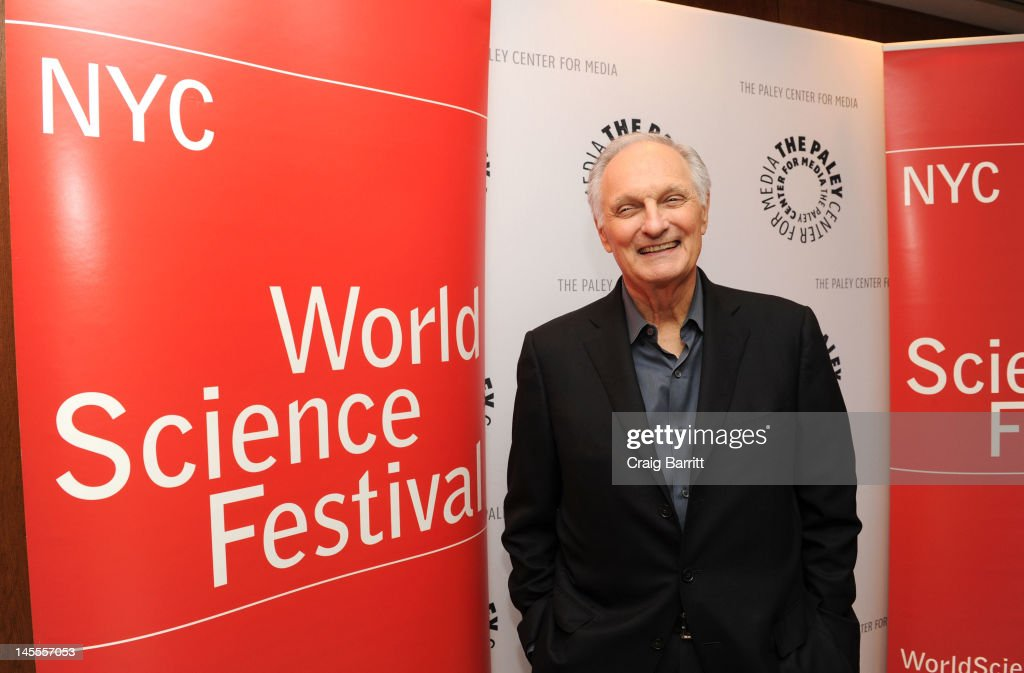 Alan Alda attends Alan Alda's Flame Challenge Announcement at The Paley Center for Media on June 1 2012 in New York City