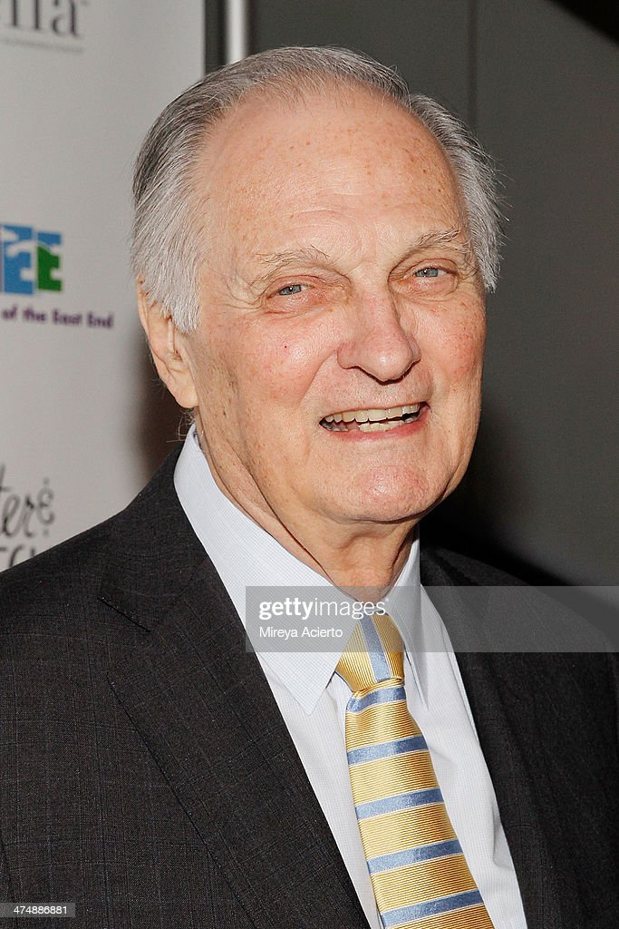 Alan Alda attends the 2014 'CMEE In The City' fundraiser at Riverpark on February 25 2014 in New York City
