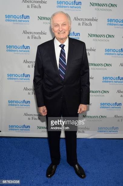 Alan Alda attends the 2017 SeriousFun Children's Network Gala at Pier Sixty at Chelsea Piers on May 23 2017 in New York City