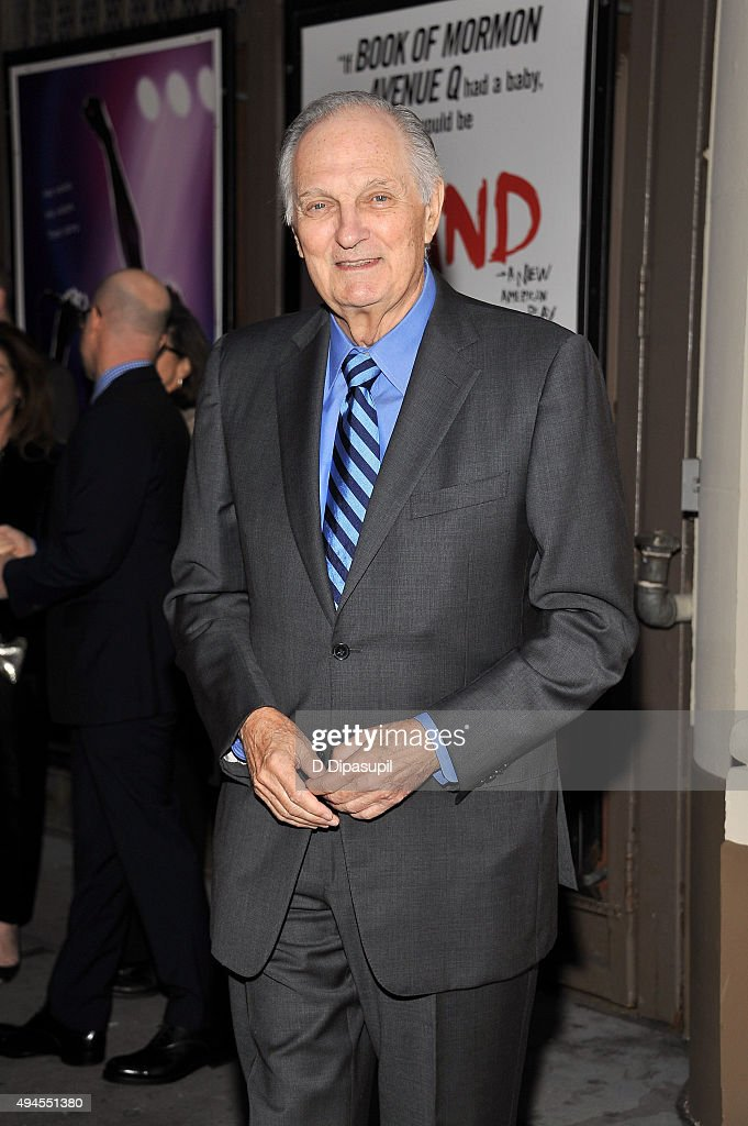 Alan Alda attends the 'Sylvia' opening night at Cort Theatre on October 27 2015 in New York City