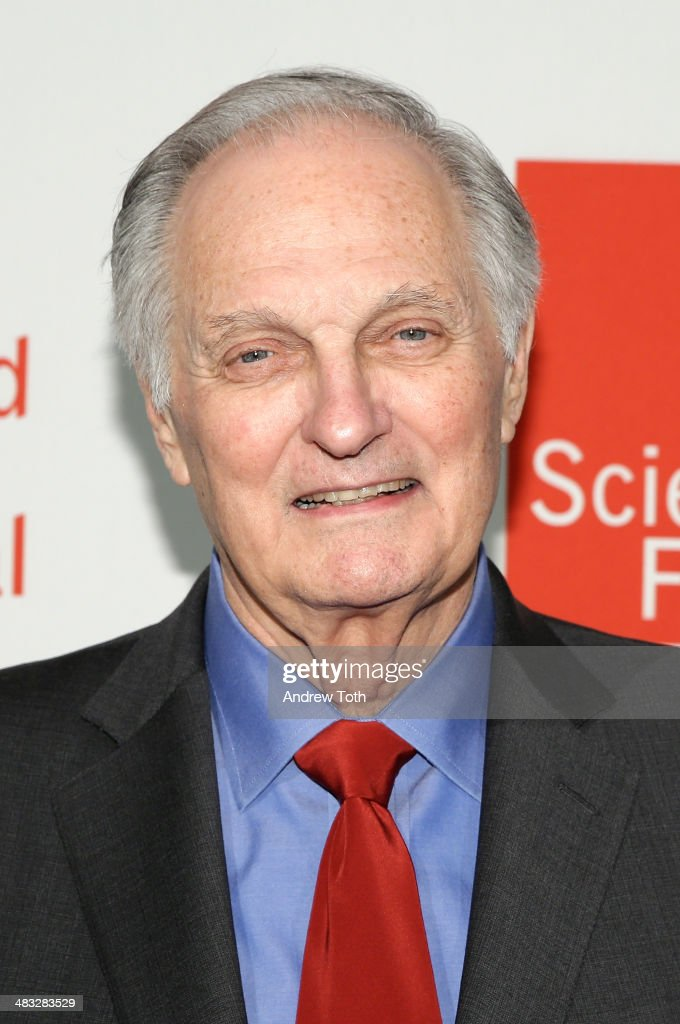 Alan Alda attends the World Science Festival Gala on April 7 2014 in New York New York