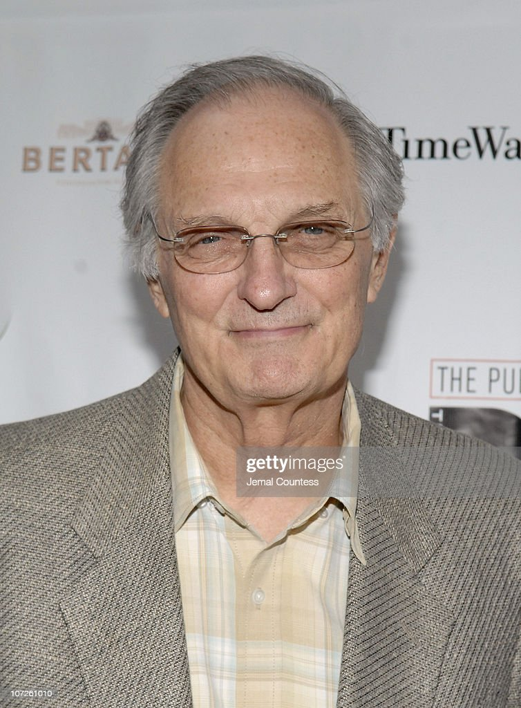 Alan Alda during Opening Night of Shakespeare in the Park 2007 Production of Romeo and Juliet Gala and Play Arrivals June 19 2007 at Delacorte...