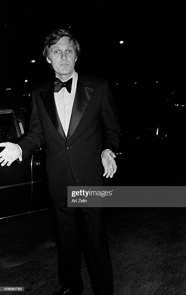 Alan Alda in a tux circa 1960 New York