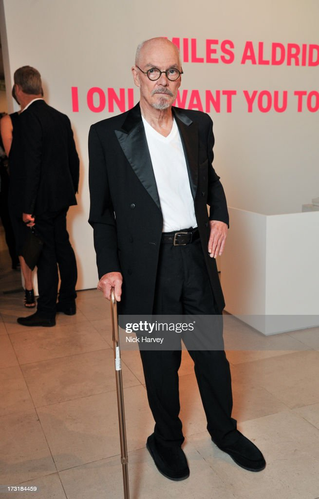 Alan Aldridge attends the private view of 'Miles Aldridge: I Only Want You To Love Me' at Embankment Gallery on July 9, 2013 in London, England.