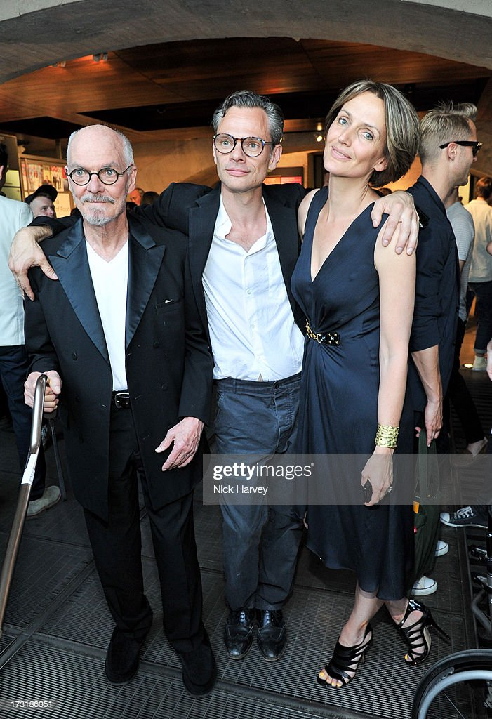 <a gi-track='captionPersonalityLinkClicked' href=/galleries/search?phrase=Alan+Aldridge&family=editorial&specificpeople=1981424 ng-click='$event.stopPropagation()'>Alan Aldridge</a>, Miles Aldridge and <a gi-track='captionPersonalityLinkClicked' href=/galleries/search?phrase=Saffron+Aldridge&family=editorial&specificpeople=208837 ng-click='$event.stopPropagation()'>Saffron Aldridge</a> attend the private view of 'Miles Aldridge: I Only Want You To Love Me' at Embankment Gallery on July 9, 2013 in London, England.