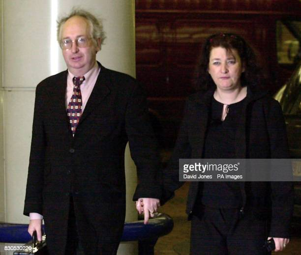 Alan and Judith Kilshaw of Buckley north Wales arrive at the High Court in Birmingham where they are continuing their battle to retain custody of...