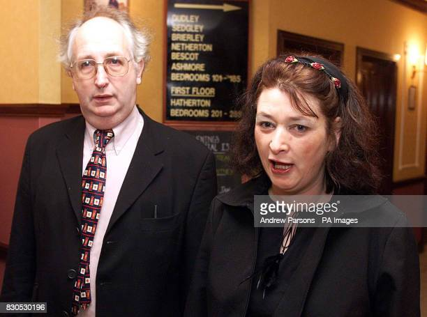 Alan and Judith Kilshaw of Buckley north Wales leaving their hotel in Walsall for the High Court in Birmingham where they were continuing their...