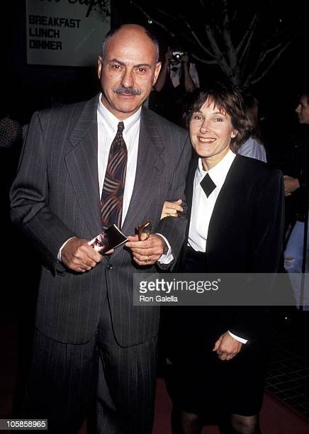 Alan Arkin and Suzanne Arkin during 'Edward Scissorhands' Premiere in Los Angeles California United States