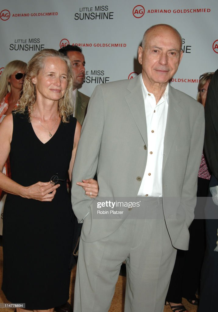 Alan Arkin and wife Suzanne during 'Little Miss Sunshine' New York Premiere Inside Arrivals at AMC Loews Lincoln Square in New York City New York...