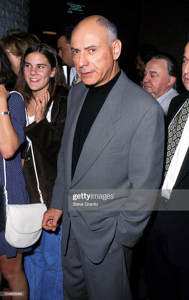 Alan Arkin during 'Steal Big Steal Little' Premiere at Mann's National Theatre in Westwood California United States