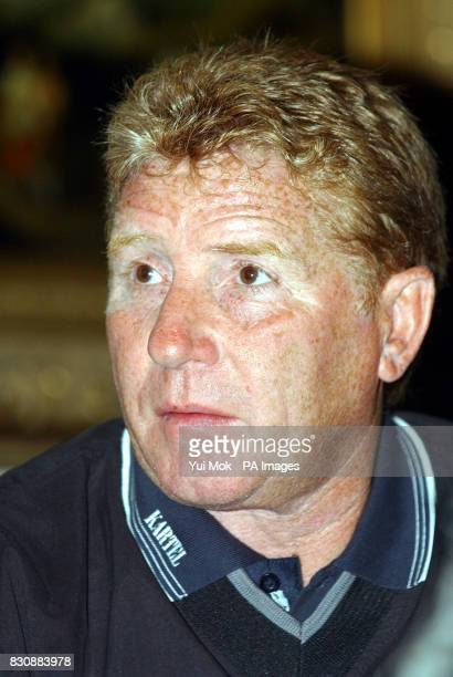 Alan Ball from the 1966 WorldCupwinning England team watches England play Nigeria prior to the Bobby Moore Fund Golf Day at Wentworth Golf Club in...